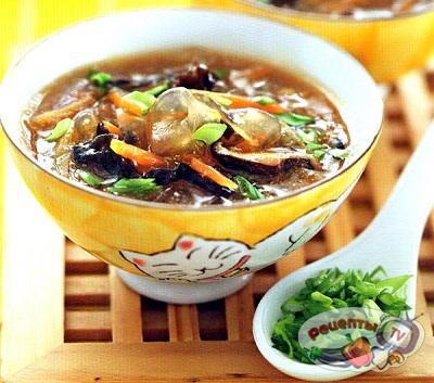 Фальшивый суп из акульих плавников