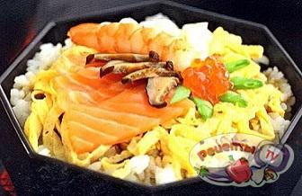 Шкатулка с драгоценностями (суши по-домашнему)