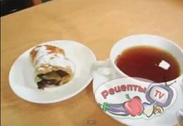 Плетенка из слоеного теста - видео рецепт
