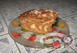 Пирог «Зебра» - видео рецепт