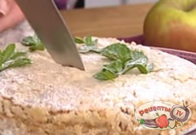 Насыпной яблочный пирог по-болгарски всего за 7 минут!